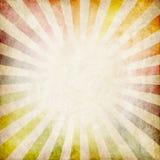 Colorful grunge rays background stock illustration