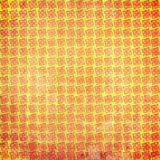 Colorful grunge squares background. With scratches Stock Photography
