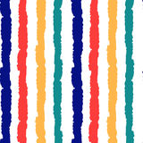 Colorful grunge stripes seamless vector pattern background illustration Royalty Free Stock Photography