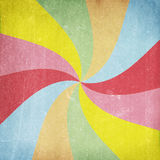 Colorful grunge or vintage swirl background Royalty Free Stock Photo