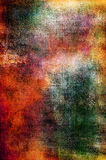 Colorful grunge texture in red, orange and green Royalty Free Stock Photography