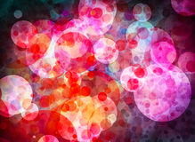 Colorful grunge textured bokeh background Stock Image