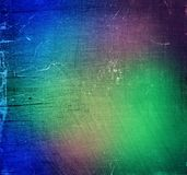 Colorful grungy abstract wall background Royalty Free Stock Photos