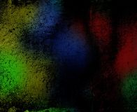 Colorful grungy background Stock Image