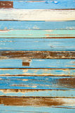 Colorful grungy wood texture Stock Photography