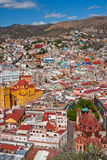 Colorful Guanajuato Town Royalty Free Stock Images