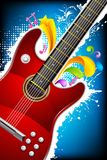 Colorful Guitar Royalty Free Stock Images