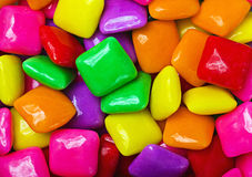 Colorful gum background Royalty Free Stock Image
