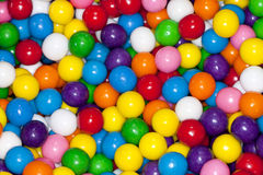 Colorful gum balls. Royalty Free Stock Image
