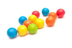 Colorful gumballs. Stock Photography
