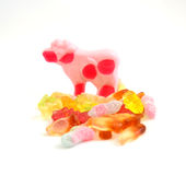 Colorful Gummi Jelly Candies Royalty Free Stock Photo