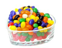Colorful gummy candies Stock Photos