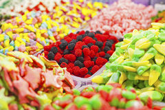 Colorful gummy candies Royalty Free Stock Photography