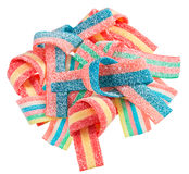 Colorful gummy candy (licorice) sweets Royalty Free Stock Photo