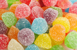 Colorful gummy candy Stock Images