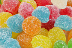 Colorful gummy candy Stock Photography