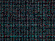 Colorful hacker maze pattern backdrop Royalty Free Stock Images