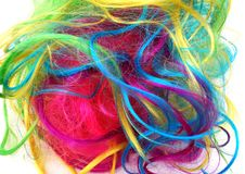 Colorful hails Royalty Free Stock Photo