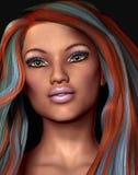Colorful Hair Stock Photos