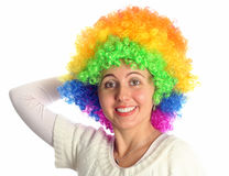Colorful hair Royalty Free Stock Image