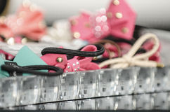 Colorful hair accessories Royalty Free Stock Image