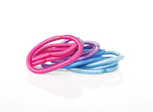 Colorful hair bands Royalty Free Stock Photography