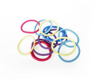 Colorful hair bands Stock Photos