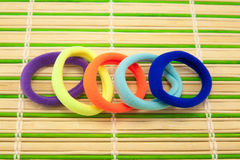 Colorful hair bands Stock Image