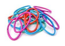 Colorful hair bands Royalty Free Stock Image
