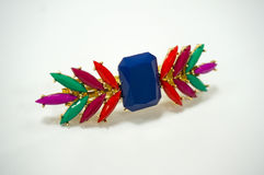 Colorful Hairpin. Accessories Jewelry Acrylic Hairpin Colorful Stock Photos