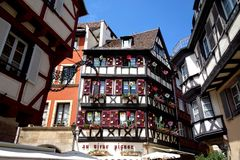 House in Colmar / Alsace Royalty Free Stock Image
