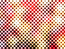 Colorful halftone abstract background Stock Image