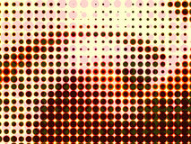 Colorful halftone abstract background Royalty Free Stock Photography