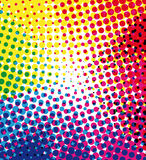 Colorful halftone background Royalty Free Stock Images