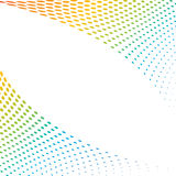 Colorful halftone background Royalty Free Stock Photo