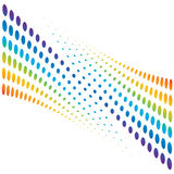 Colorful halftone background. Vector illustration vector illustration
