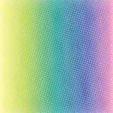 Colorful halftone background  Stock Images