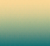 Colorful halftone background, abstract geometric shape. Modern stylish texture. Royalty Free Stock Photo