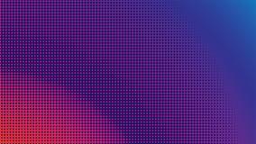 Colorful Halftone Background Design Template, Pop Art, Abstract Dots Pattern Illustration, Blue Orange Magenta Violet Purple