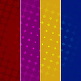 Colorful Halftone Backgrounds Royalty Free Stock Photo