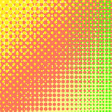 Colorful Halftone Texture Stock Photography