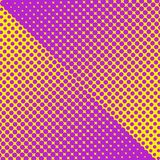 Colorful halftone texture Royalty Free Stock Images