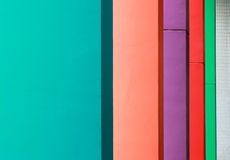 Colorful hallway Stock Photos