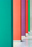 Colorful hallway Royalty Free Stock Images