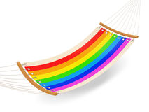 Colorful Hammock Stock Photography