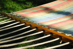 Colorful hammock Stock Photos