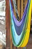 Colorful hammock. Royalty Free Stock Images