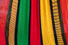 Colorful of hammock. Made from nylon hanging for sale Royalty Free Stock Images