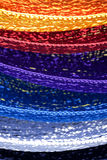 Colorful Hammocks Royalty Free Stock Photography
