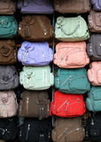 Colorful hand bags Stock Photo